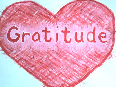 Making gratitude a habit – every day