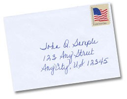 Hand addressed or printed envelopes?